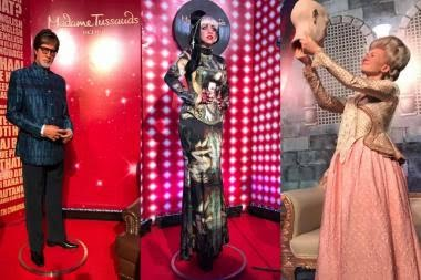 Madame Tussauds Delhi Unveils Wax Figures Of Big B, Lady Gaga
